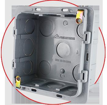 cajas eléctricas plásticas 5800